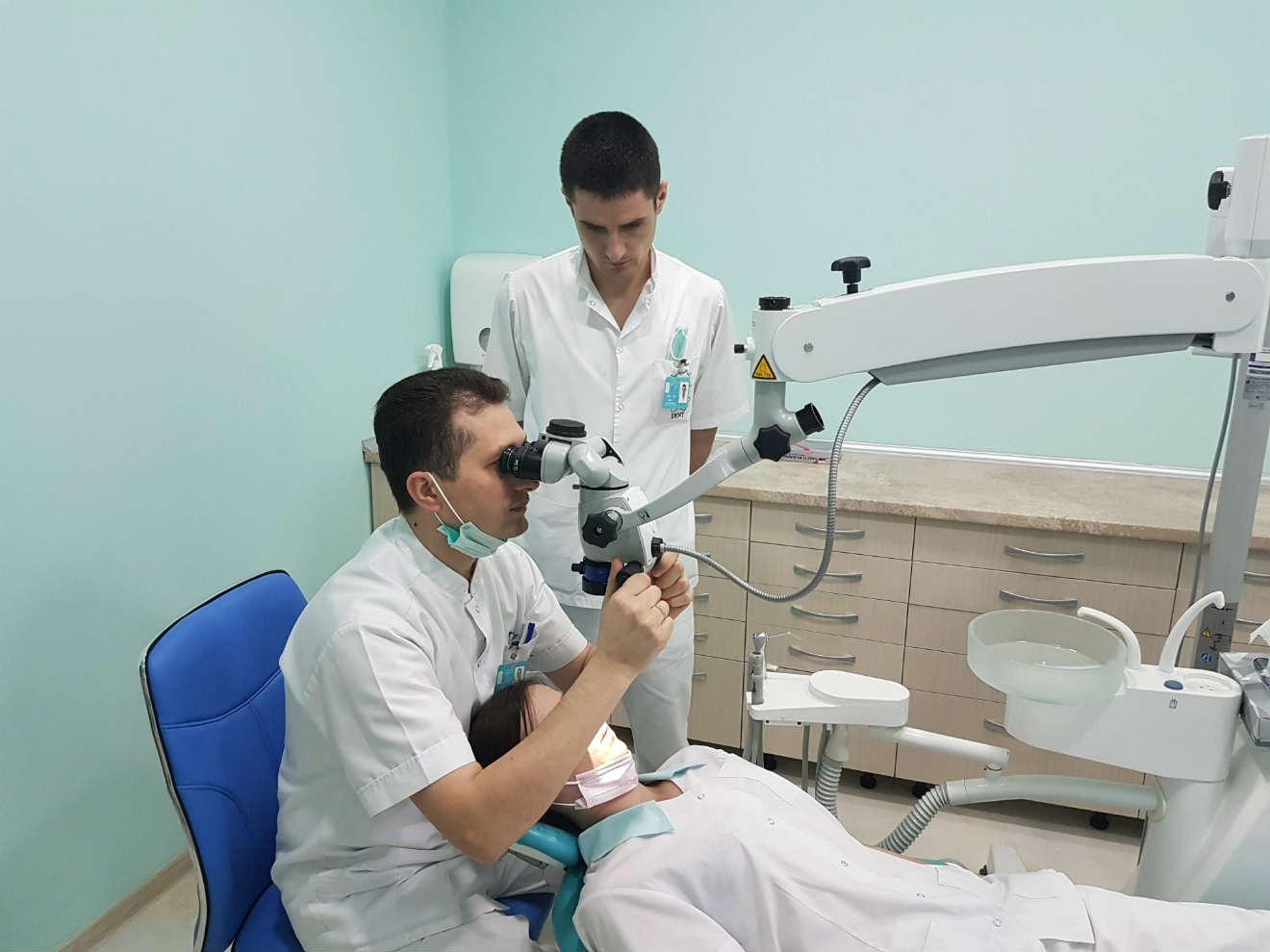 microscop endodontic